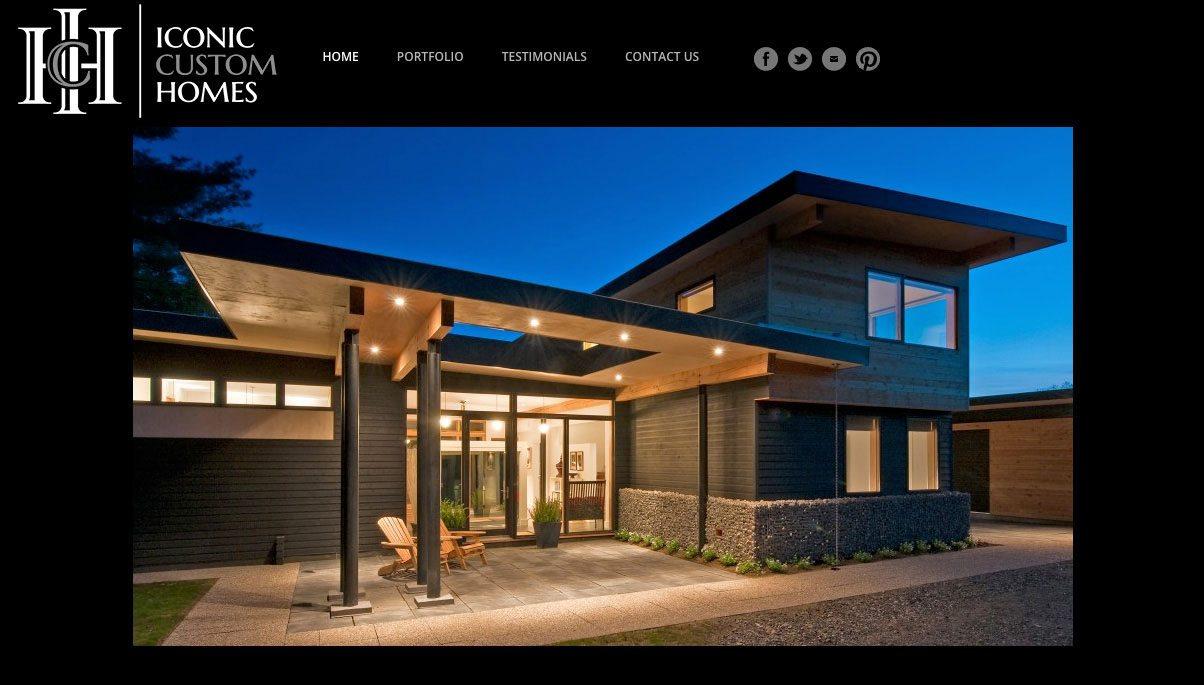 Iconic Custom homes